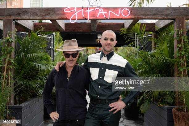 James Gardner and Casey Spooner attend the Gitano NYC preview celebration on June 21 2018 in New York City