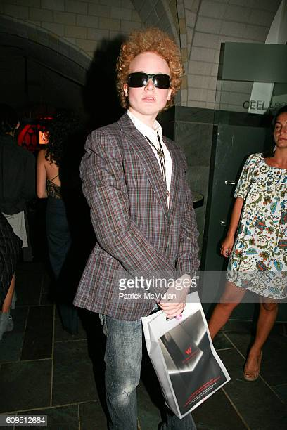 James Garfunkel attends CHARLOTTE RONSON Spring 2008 AFTER PARTY at Bryant Park Hotel on September 5 2007 in New York City