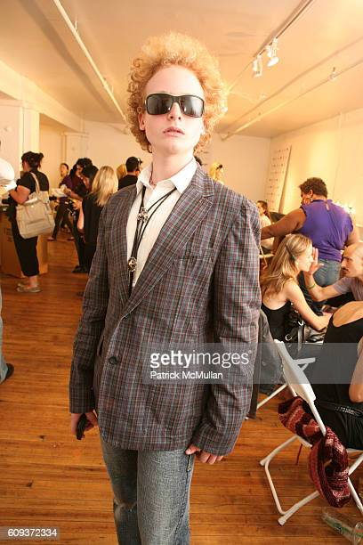 James Garfunkel attends CHARLOTTE RONSON Spring 2008 Collection at Pervis on September 5 2007 in New York City