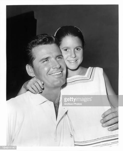 James Garner and daughter Kim Garner, circa 1955.