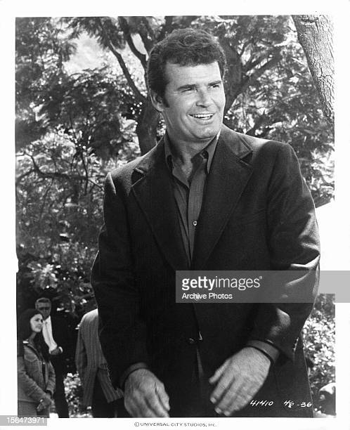 James Garner in a scene from the television series 'The Rockford Files', Circa 1976.