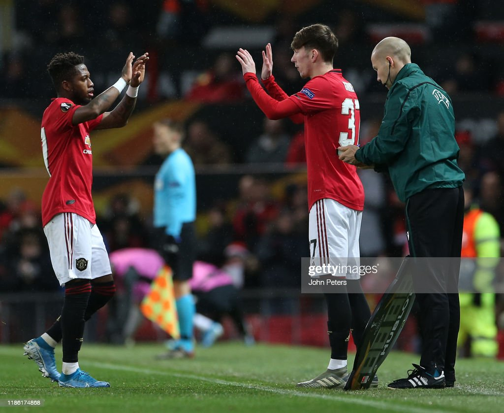 Manchester United v Partizan: Group L - UEFA Europa League : News Photo
