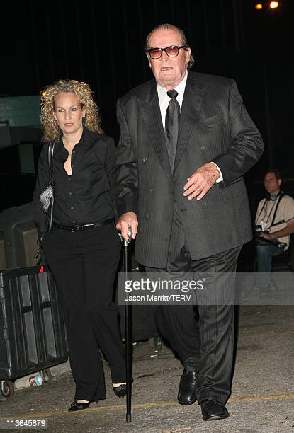 James Garner, presenter , and guest during 2006 Writers Guild Awards - Press Room at The Hollywood Palladium in Hollywood, California, United States.