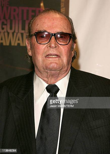 James Garner, presenter during 2006 Writers Guild Awards - Press Room at The Hollywood Palladium in Hollywood, California, United States.