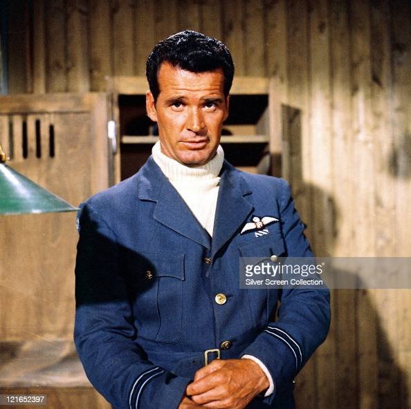 James Garner, US Actor, Wearing A Blue Royal Air Force