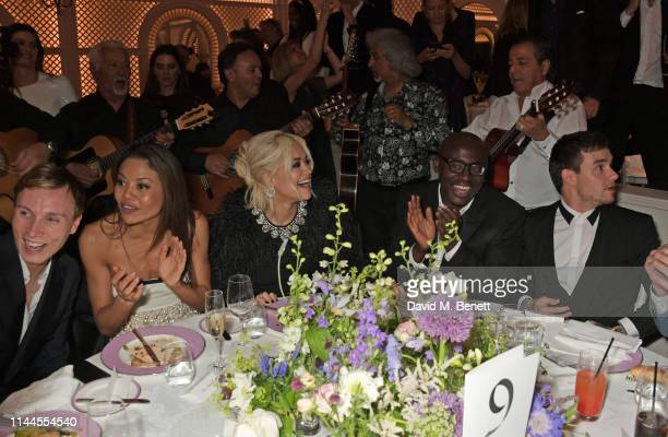 James GartshoreBoulter Emma Weymouth Rita Ora Edward Enninful and Liam Payne attend the 10th Annual Filmmakers Dinner hosted by Charles Finch Edward...