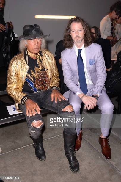 James Goldstein and Marshall Winters attend A Detacher fashion show during New York Fashion Week on September 9 2017 in New York City