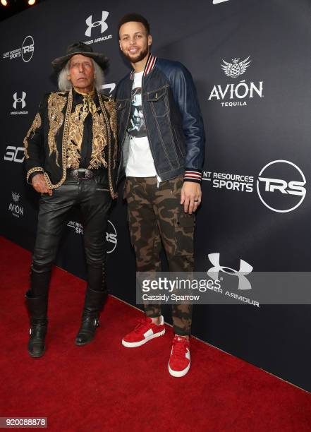 James Goldstein and Steph Curry Attend Tequila Avion hosts NBA AllStar After Party presented by Talent Resources on February 17 2018 in Beverly Hills...