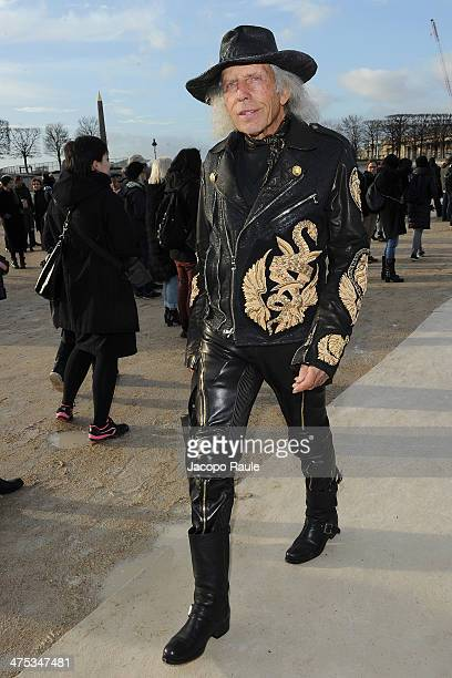 James Goldstein arrives at the Nina Ricci show as part of the Paris Fashion Week Womenswear Fall/Winter 20142015 on February 27 2014 in Paris France