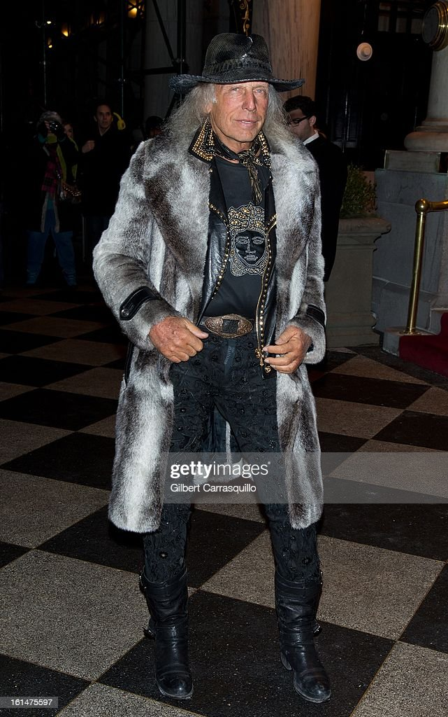 James Goldstein arrives at the Zac Posen Fall 2013 Mercedes-Benz Fashion Show at The Plaza Hotel on February 10, 2013 in New York City.