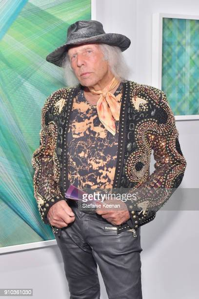 James Goldstein at OPENING NIGHT   ART LOS ANGELES CONTEMPORARY 9TH EDITION at Barkar Hangar on January 25 2018 in Santa Monica California