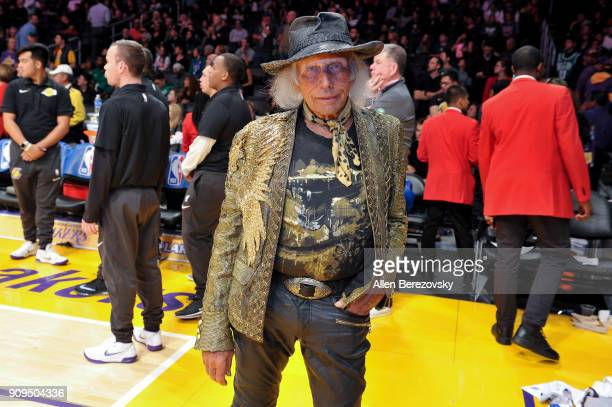 James Goldstein attends a basketball game between the Los Angeles Lakers and the Boston Celtics at Staples Center on January 23 2018 in Los Angeles...