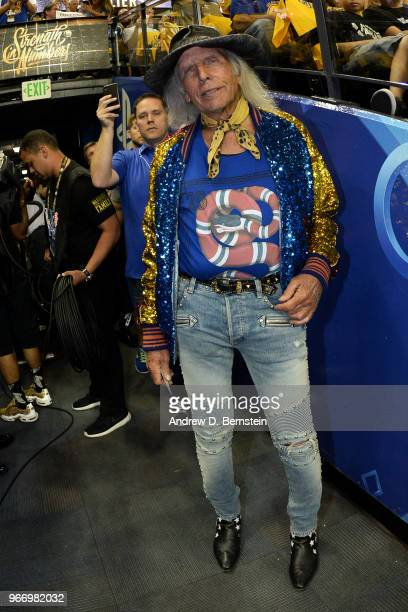 James Goldstein attends a game between the Cleveland Cavaliers and Golden State Warriors in Game Two of the 2018 NBA Finals on June 3 2018 at ORACLE...