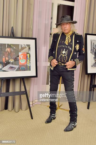 James Goldstein attends Diesel Presents Scott Lipps Photography Exhibition 'Rocks Not Dead' at Sunset Tower on June 28 2018 in Los Angeles California