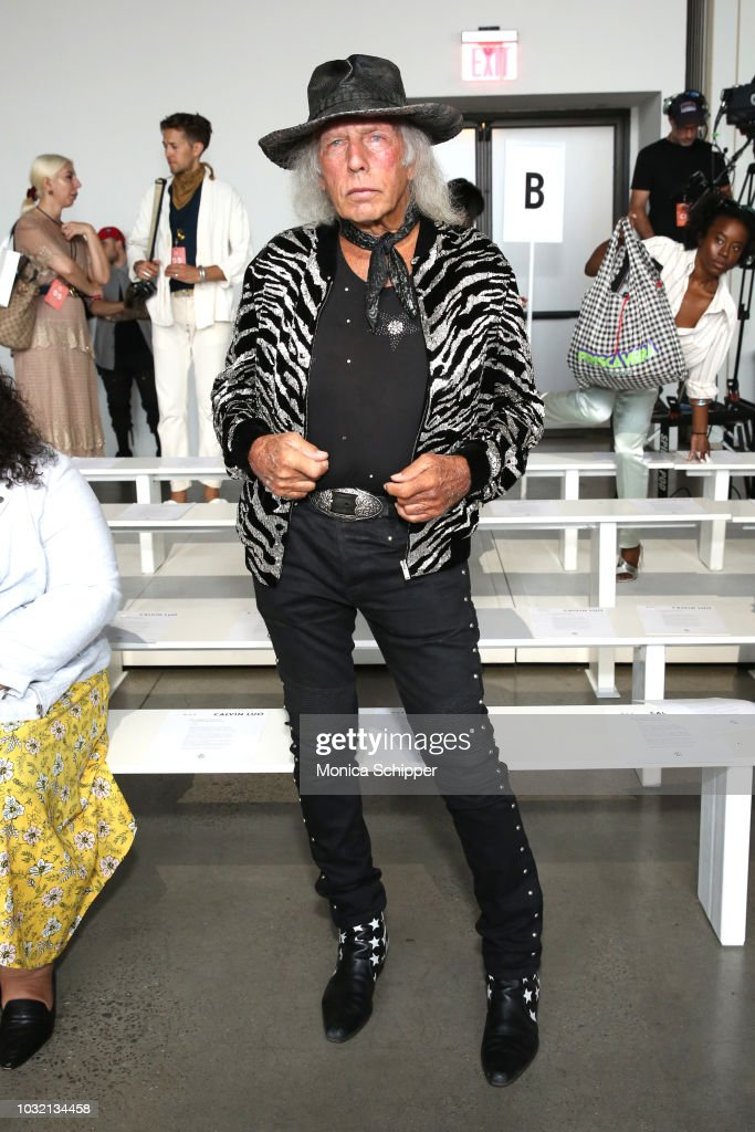 James Goldstein attends the Calvin Luo front Row during New York Fashion Week: The Shows at Gallery I at Spring Studios on September 12, 2018 in New York City.