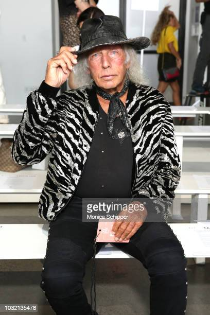 James Goldstein attends the Calvin Luo front Row during New York Fashion Week The Shows at Gallery I at Spring Studios on September 12 2018 in New...