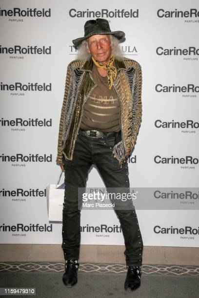 James Goldstein attends the Carine Roitfeld Parfums 7 lovers Cocktail At The Peninsula Hotel In Paris on July 01 2019 in Paris France