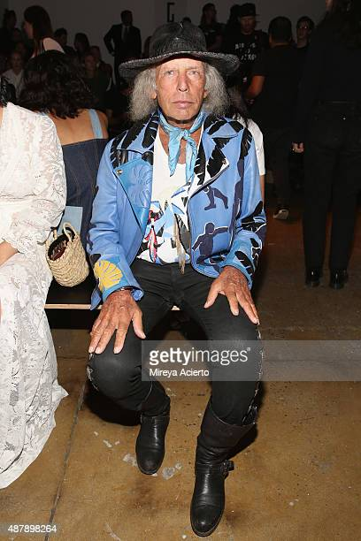 James Goldstein attends the Dion Lee fashion show during Spring 2016 MADE Fashion Week at Milk Studios on September 12 2015 in New York City