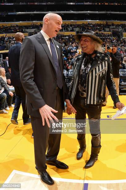 James Goldstein attends the game between the Dallas Mavericks and Los Angeles Lakers on March 28 2018 at STAPLES Center in Los Angeles California...