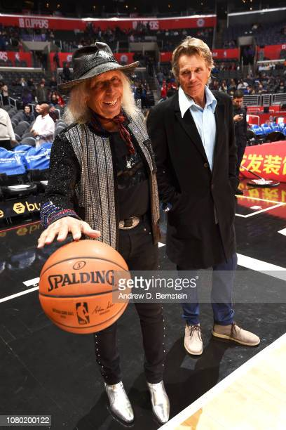 James Goldstein is photographed before the game between the San Antonio Spurs and LA Clippers on December 29 2018 at STAPLES Center in Los Angeles...