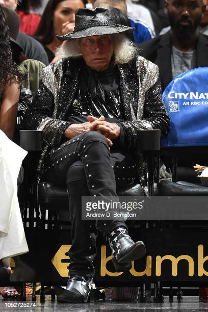 James Goldstein is seen at the game between the Houston Rockets and the LA Clippers on October 21 2018 at Staples Center in Los Angeles California...