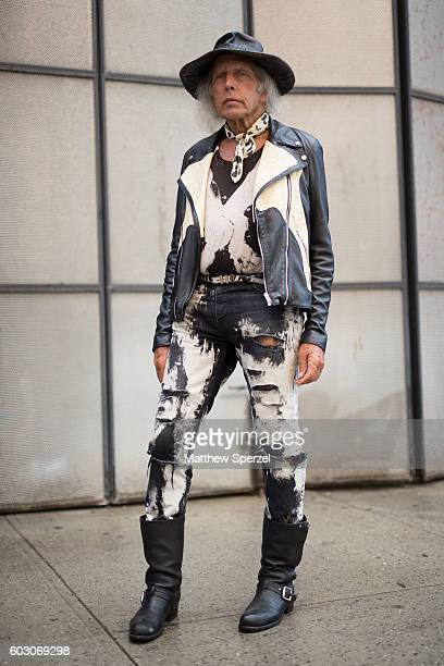 James Goldstein is seen attending Christian Siriano during New York Fashion Week on September 10 2016 in New York City