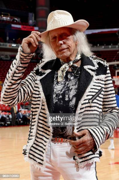 James Goldstein is seen before the game between the Golden State Warriors and the Houston Rockets during Game Seven of the Western Conference Finals...