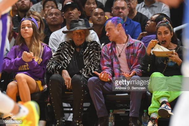 James Goldstein is seen during a game between the against the Orlando Magic and the Los Angeles Lakers on November 25 2018 at STAPLES Center in Los...