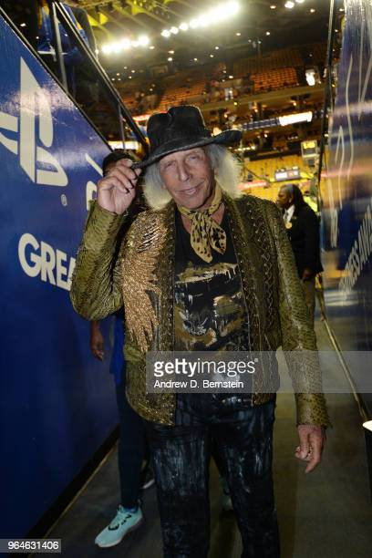 James Goldstein is seen prior to Game One of the 2018 NBA Finals between the Golden State Warriors and Cleveland Cavaliers on May 31 2018 at ORACLE...