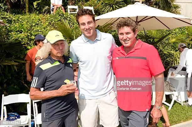 James Goldstein Justin Gimelstob and Tony Graham attend MAK Games 2014 on October 12 2014 in Beverly Hills California