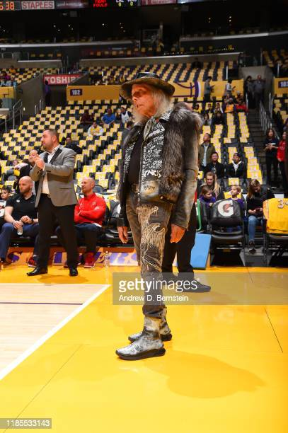 James Goldstein looks on during a game between the Washington Wizards and the Los Angeles Lakers on November 29 2019 at STAPLES Center in Los Angeles...