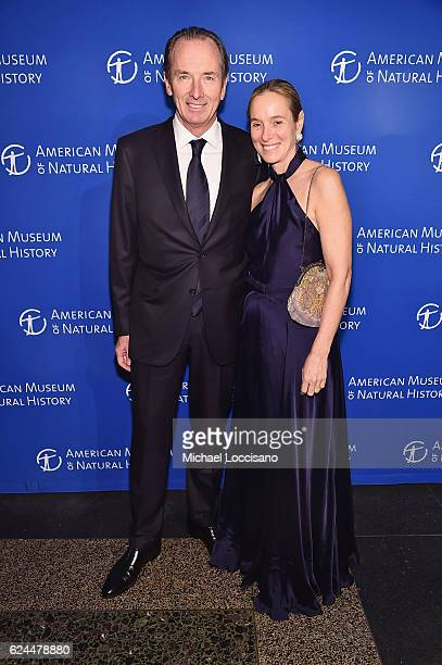 James Gorman and wife Penny Gorman attend the 2016 American Museum of Natural History Museum Gala at the American Museum of Natural History on...