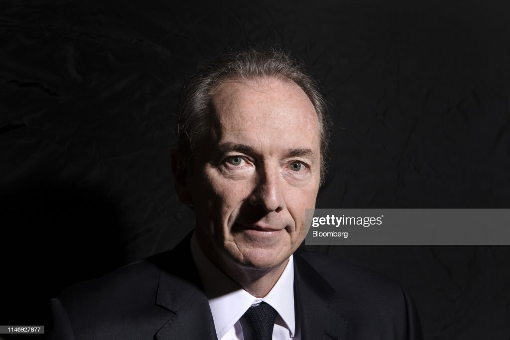 Morgan Stanley CEO James Gorman Interview at the Morgan Stanley China Summit : News Photo