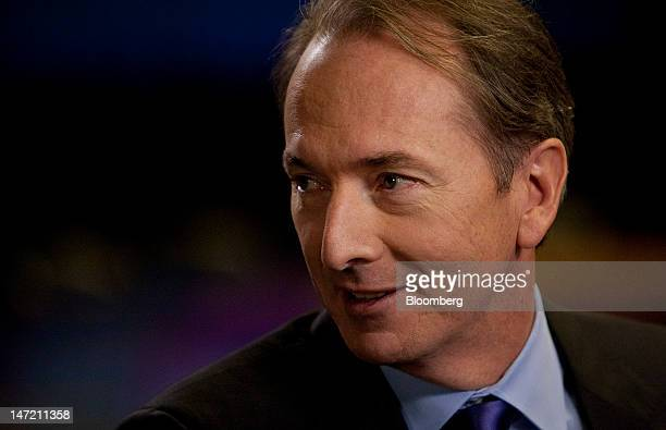 James Gorman chairman and chief executive officer of Morgan Stanley speaks before an interview in New York US on Wednesday June 27 2012 Morgan...
