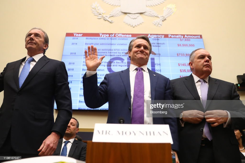 House Financial Services Committee Hearing On Holding Megabanks Accountable : News Photo