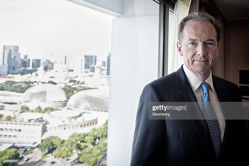 Morgan Stanley Chief Executive Officer James Gorman Interview : News Photo