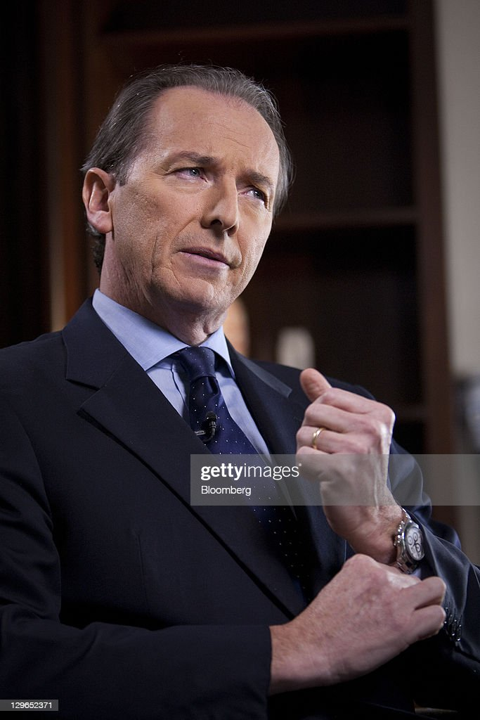 Morgan Stanley CEO James Gorman Interview : News Photo