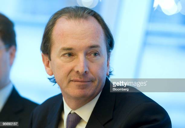 James Gorman chief executive officer of Morgan Stanley speaks during an editorial board meeting in New York US on Monday Jan 11 2010 Gorman has been...