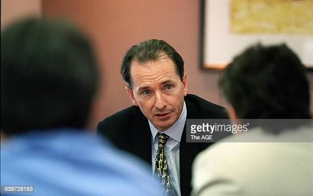 James Gorman of Merrill Lynch 17 October 2001 THE AGE Picture by JOE ARMAO