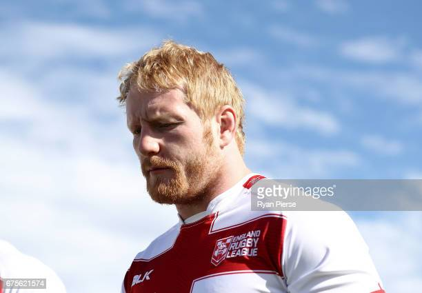 James Graham of England looks on during an England Media Opportunity on May 2 2017 in Sydney Australia