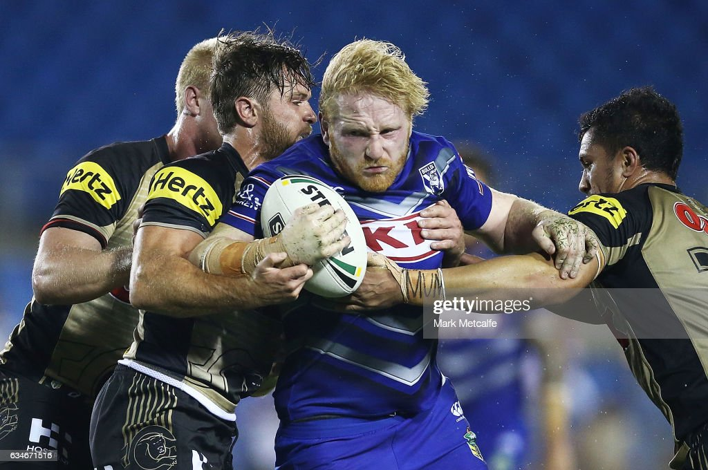 NRL Trial - Bulldogs v Panthers