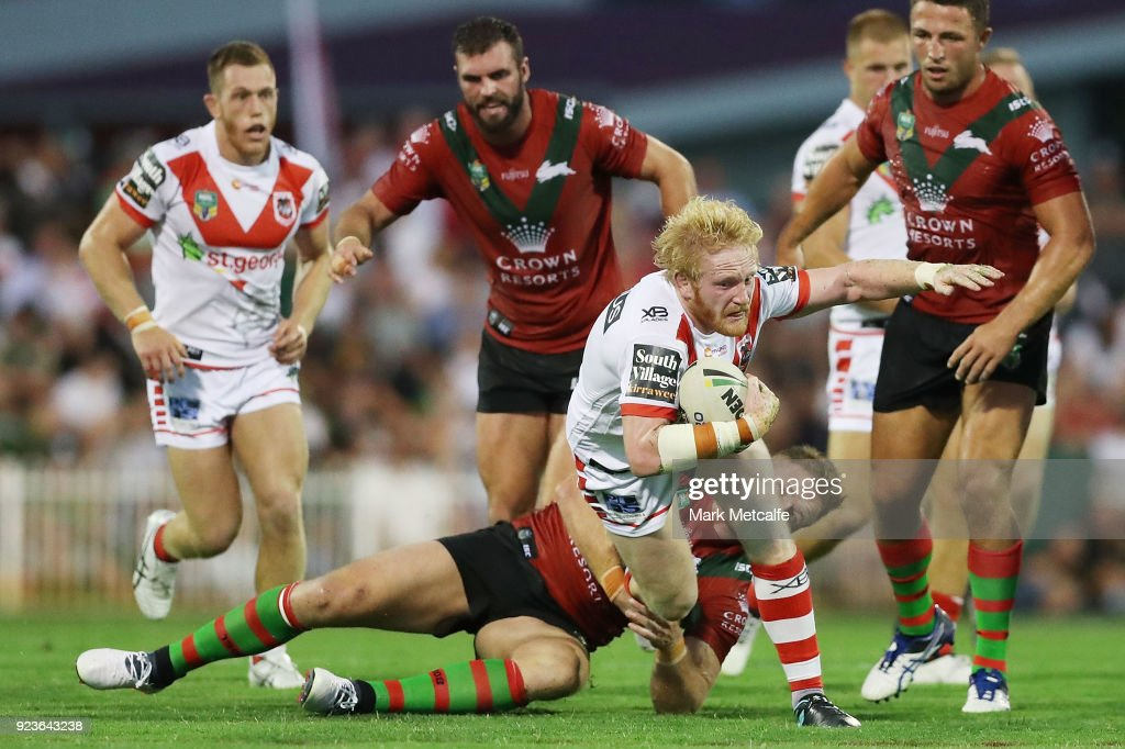 Rabbitohs v Dragons - NRL Trial Match