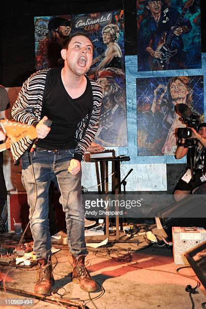 James Graham of The Twilight Sad performs at Maggie Mae's on March 16 2011 in Austin United States