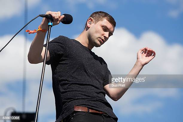 James Graham of The Twilight Sad performs at the Sasquatch Music Festival at the Gorge Amphitheatre on May 27 2016 in George Washington