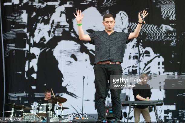 James Graham of The Twilight Sad performs on stage at Bellahouston Park during Glasgow Summer Sessions on August 16, 2019 in Glasgow, Scotland.