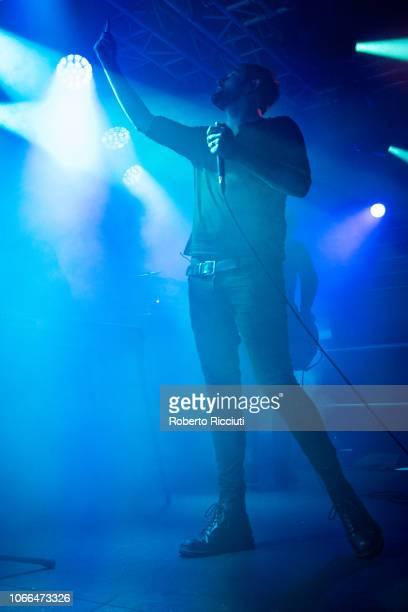 James Graham of The Twilight Sad performs on stage at The Liquid Room on November 29 2018 in Edinburgh Scotland