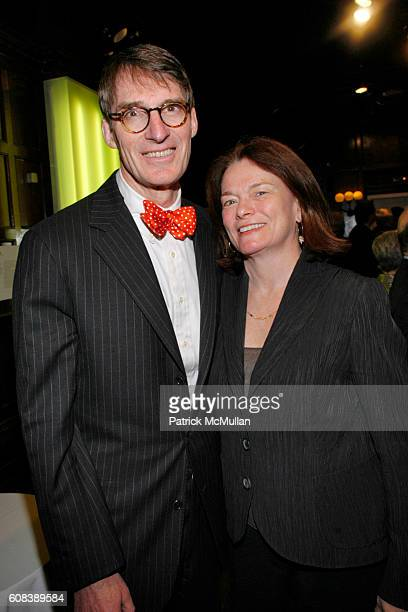 James Grant and Patricia Kavanagh attend LINDSAY NEWMAN WORKS Cocktail Party Hosted by Lindsay Newman Architecture and Design at CooperHewitt on...