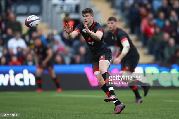 James Grayson of England during the International match between England U20's and South Africa U20's at Sixways Stadium on May 11 2018 in Worcester...