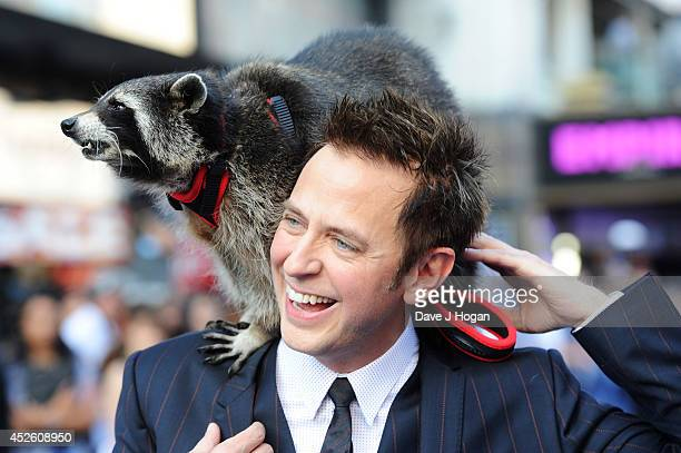 James Gunn attends the European premiere of Guardians Of The Galaxy at The Empire Leicester Square on July 24 2014 in London England