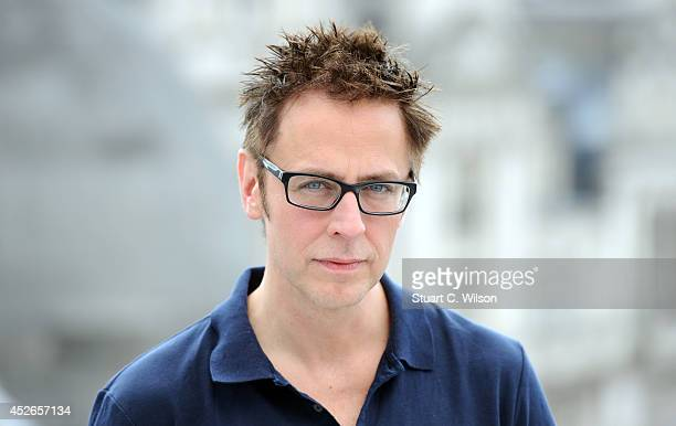 James Gunn attends the 'Guardians of the Galacy' photocall on July 25 2014 in London England